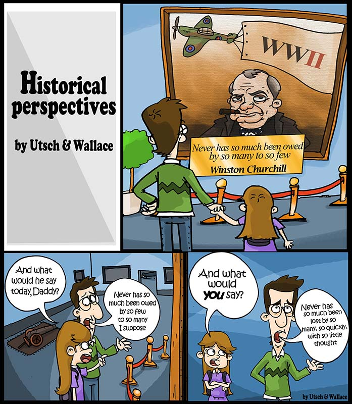 utsch and wallace comic