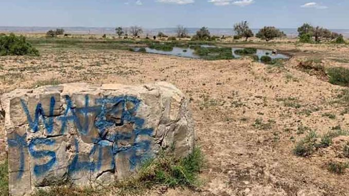 Navajo Water Warrior Drives Miles Arizona Daily Independent