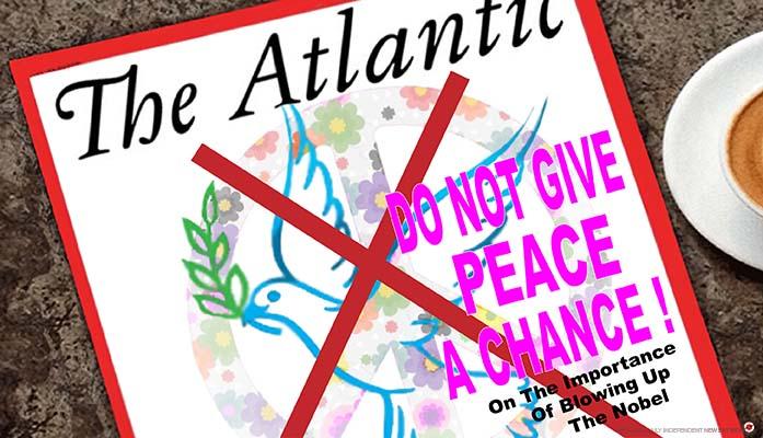 the atlantic on peace