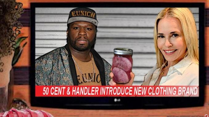 Chelsea Handler 50 Cent comic