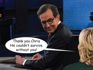 chris wallace debate comic