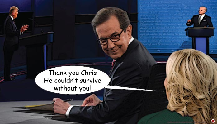 chris wallace takes on trump