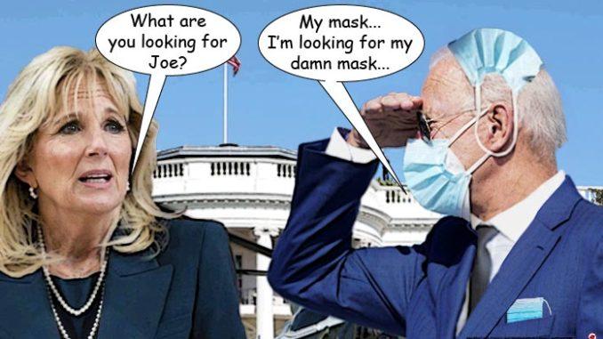 biden mask comic